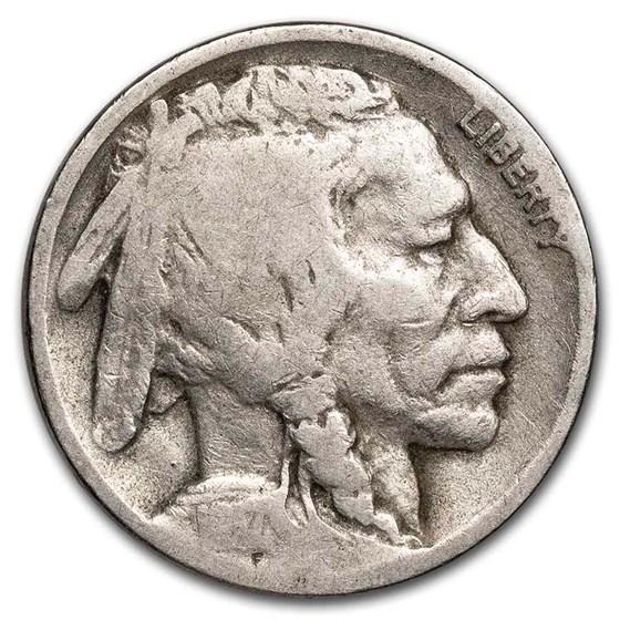 1917-D Buffalo Nickel AG