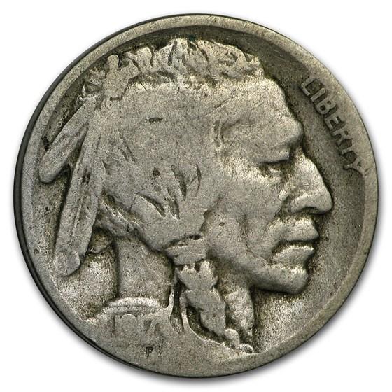 1917-D Buffalo Nickel Good