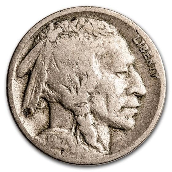 1917-D Buffalo Nickel VG