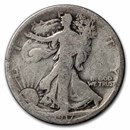 1917-D Rev Walking Liberty Half Dollar AG
