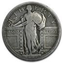 1917-D Standing Liberty Quarter Type-I Good