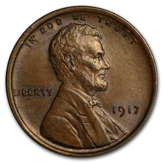 1917 Lincoln Cent AU