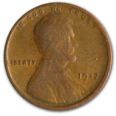 1917 Lincoln Cent Good/Fine