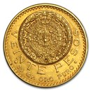 1917 Mexico Gold 20 Pesos XF