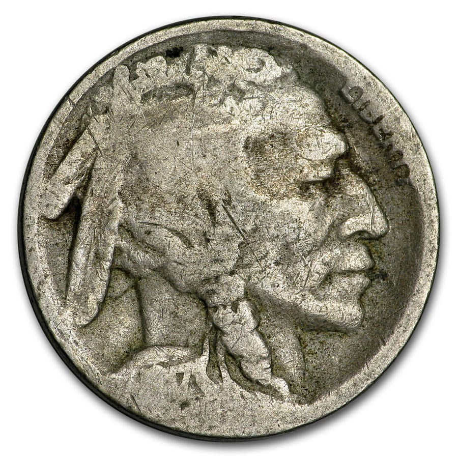 1917-S Buffalo Nickel AG