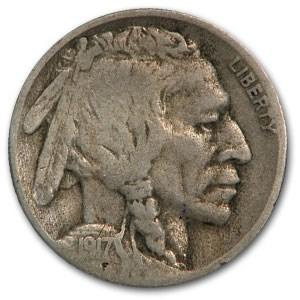 1917-S Buffalo Nickel VG