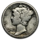 1917-S Mercury Dime Good/VG