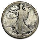 1917-S Obverse Walking Liberty Half Dollar AG