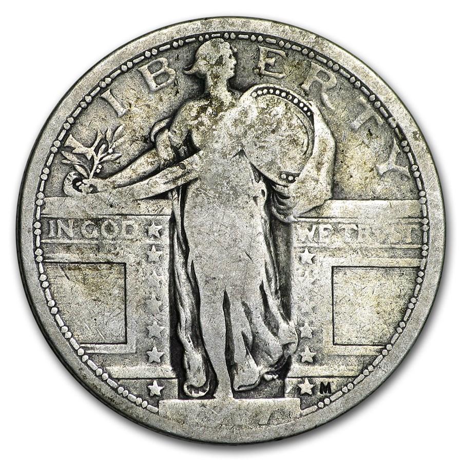1917 Standing Liberty Quarter Type-I Good