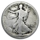 1917 Walking Liberty Half Dollar AG