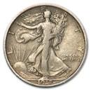 1917 Walking Liberty Half Dollar Fine
