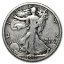 1917 Walking Liberty Half Dollar VG