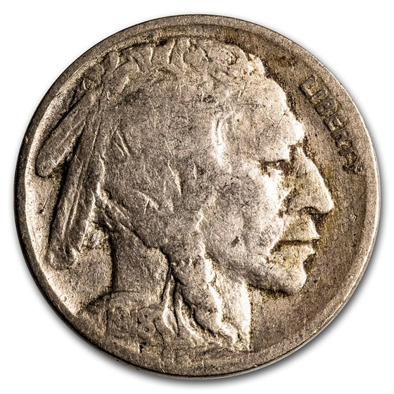 1918 Buffalo Nickel Good+
