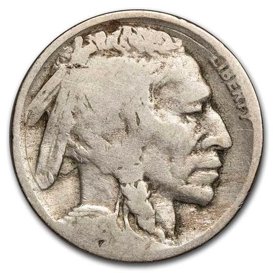 1918-D Buffalo Nickel AG