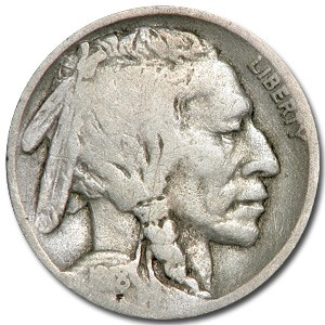 1918-D Buffalo Nickel VG