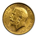 1918-I India Gold Sovereign George V BU