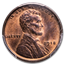 1918 Lincoln Cent MS-63 PCGS (Red/Brown)