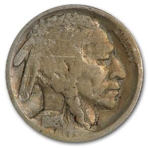 1918-S Buffalo Nickel Good