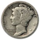 1918-S Mercury Dime Good/Fine