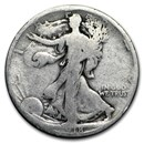 1918-S Walking Liberty Half Dollar AG