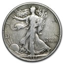 1918 Walking Liberty Half Dollar Fine