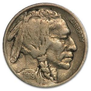 1919 Buffalo Nickel Fine