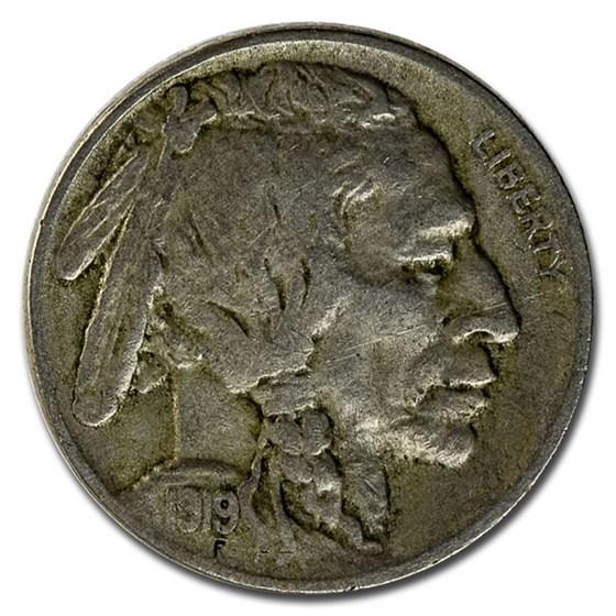 1919 Buffalo Nickel VF