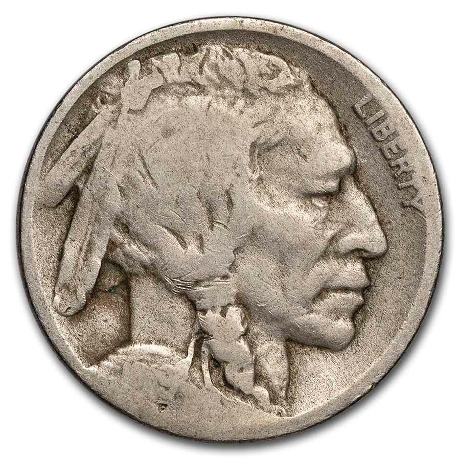 1919-D Buffalo Nickel AG