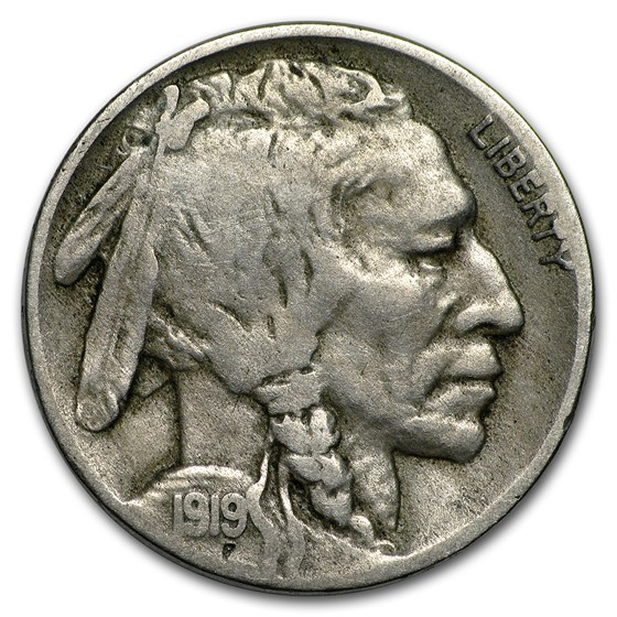 1919-D Buffalo Nickel Fine