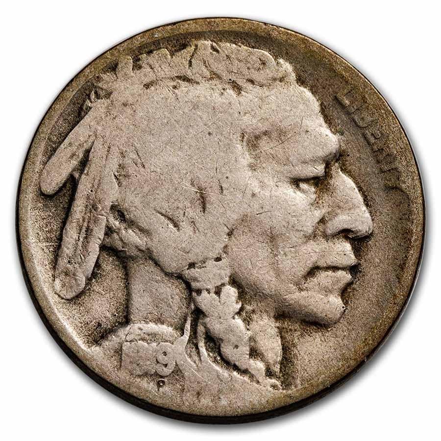 1919-D Buffalo Nickel Good