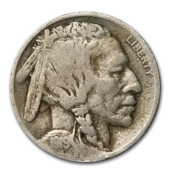 1919-D Buffalo Nickel VG