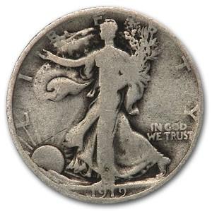 1919-D Walking Liberty Half Dollar Good