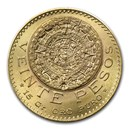 1919 Mexico Gold 20 Pesos BU