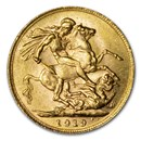 1919-P Australia Gold Sovereign George V BU