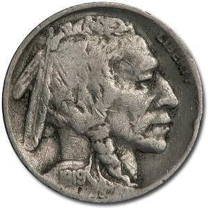 1919-S Buffalo Nickel Fine