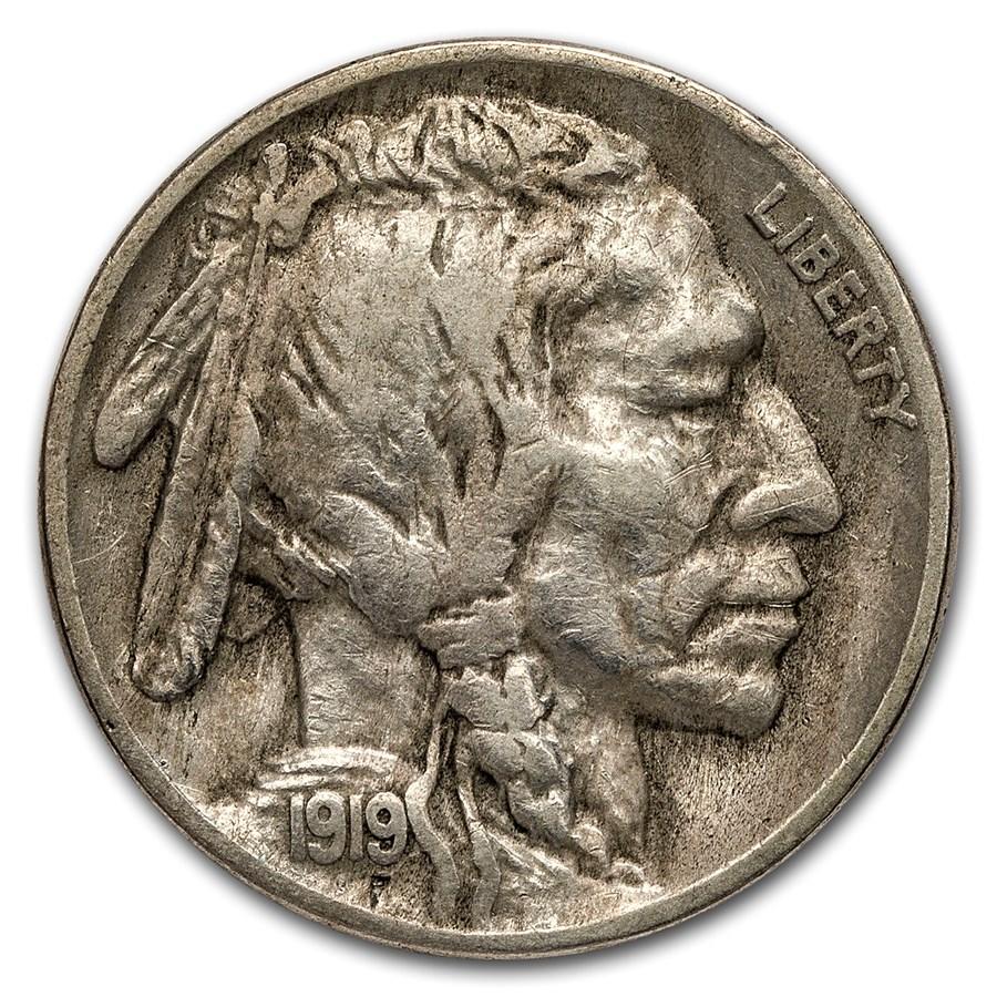 1919-S Buffalo Nickel VF