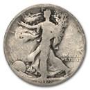 1919-S Walking Liberty Half Dollar Good