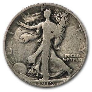 1919 Walking Liberty Half Dollar Good
