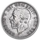 1920-1926 Great Britain Silver Florin George V Avg Circ