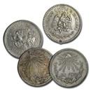 1920-1945 Silver Mexican 1 Peso Cap & Rays Cull