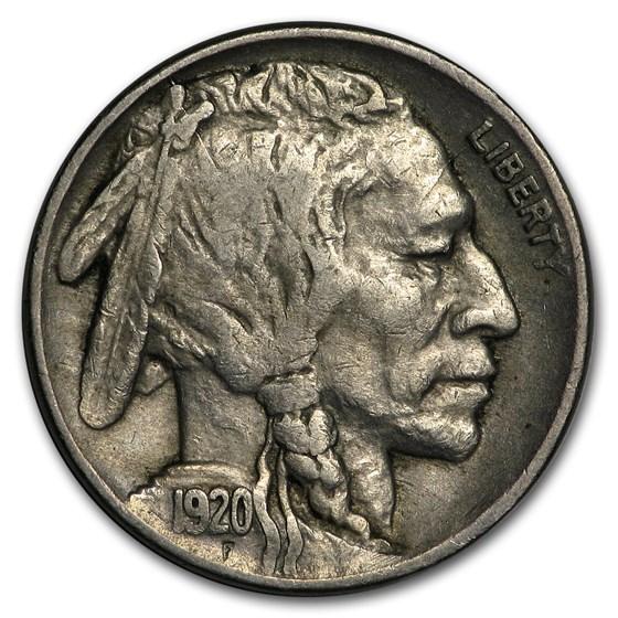 1920 Buffalo Nickel VF