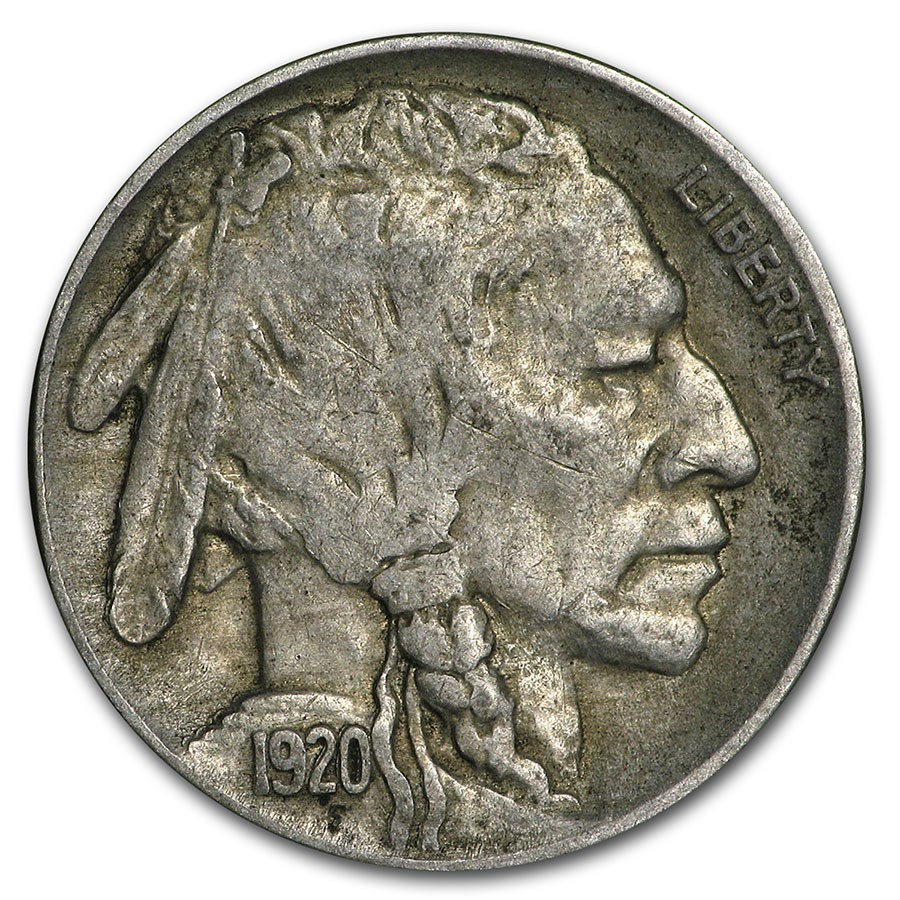 1920 Buffalo Nickel XF
