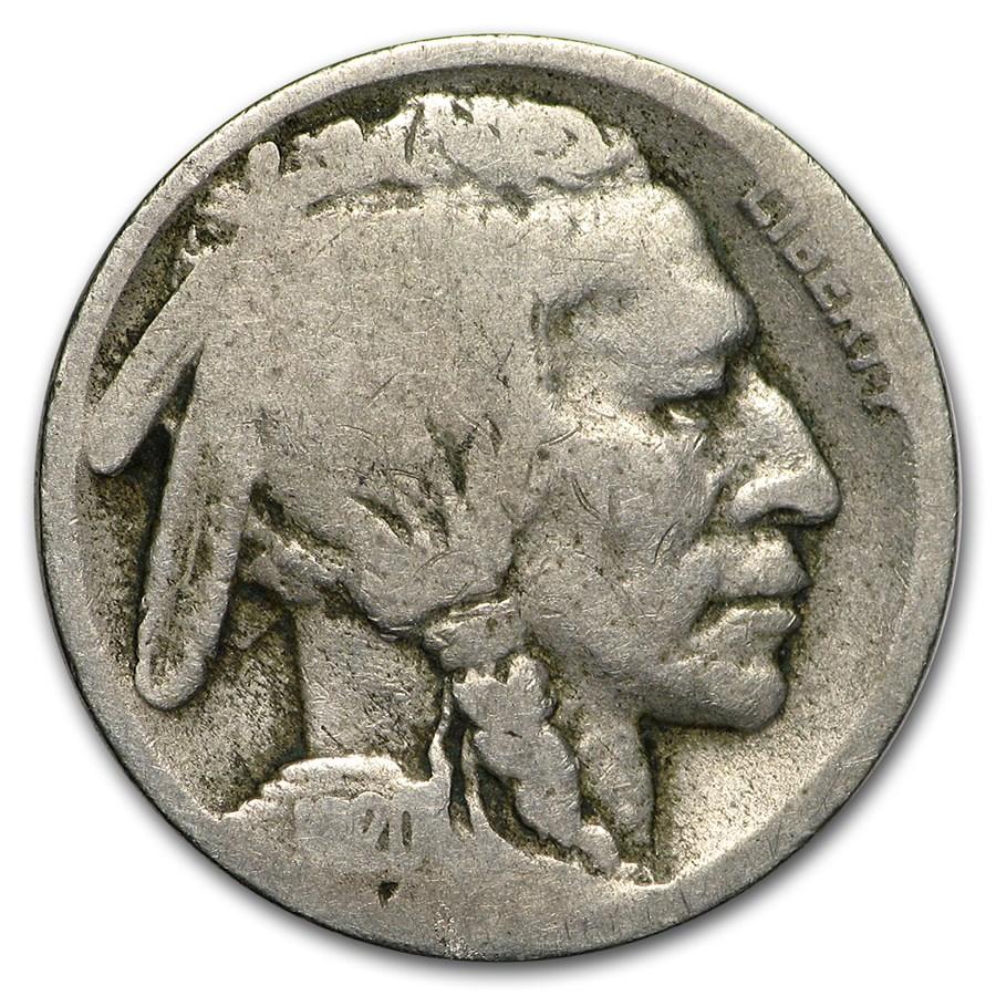1920-D Buffalo Nickel AG