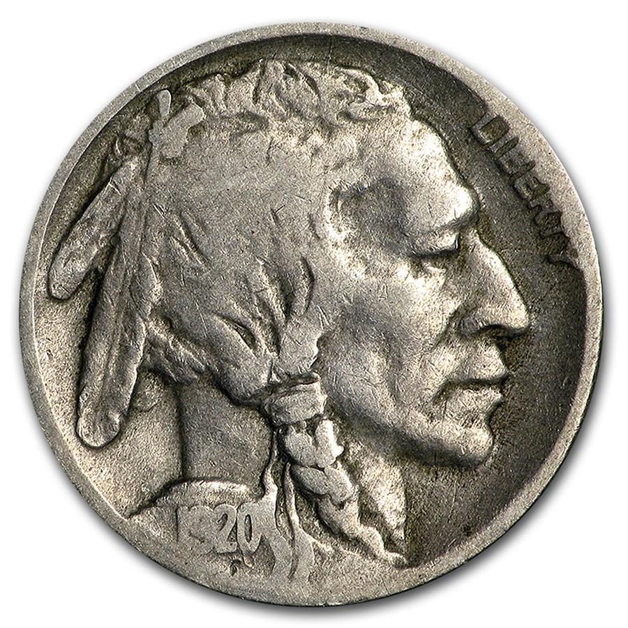 1920-D Buffalo Nickel VG