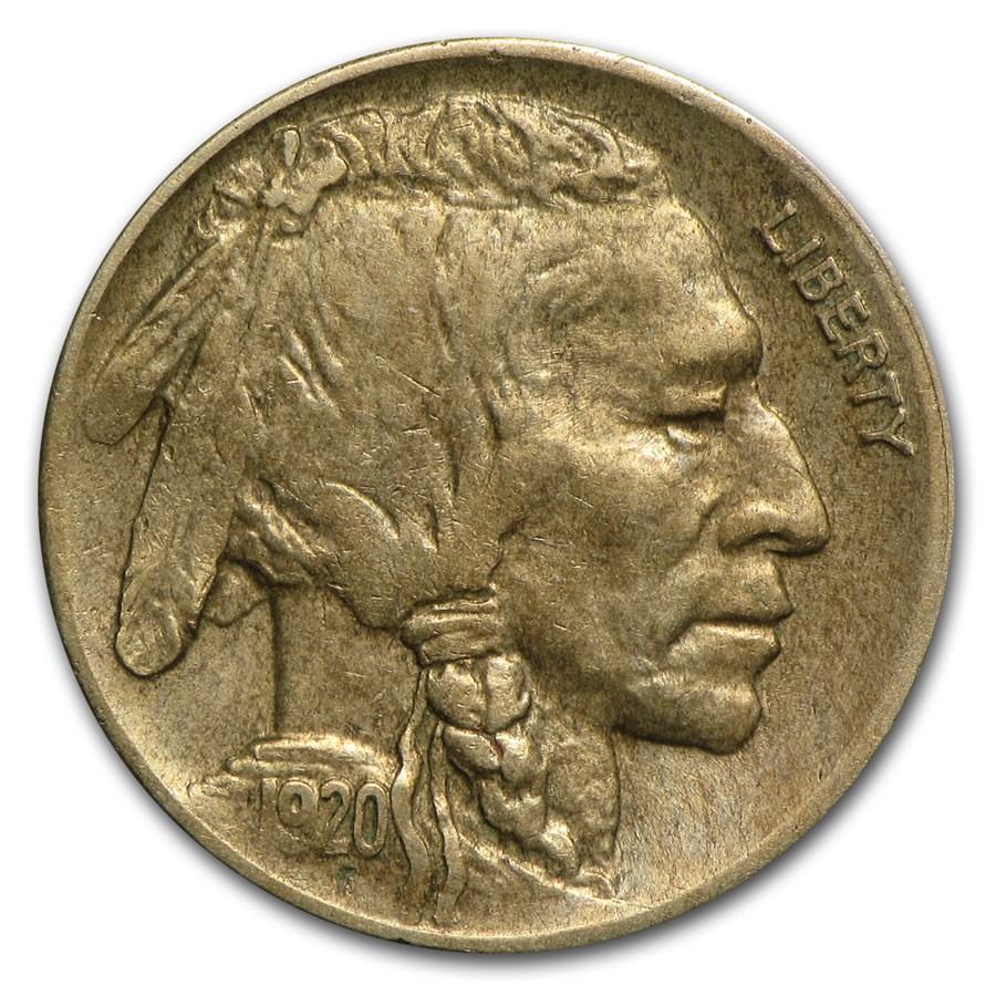 1920-D Buffalo Nickel XF