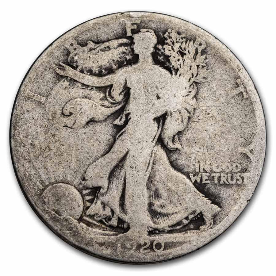 1916-D Walking Liberty Half Dollar AG