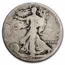 1920-D Walking Liberty Half Dollar AG