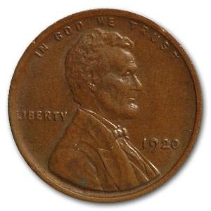 1920 Lincoln Cent AU