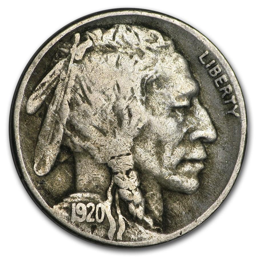 1920-S Buffalo Nickel Fine