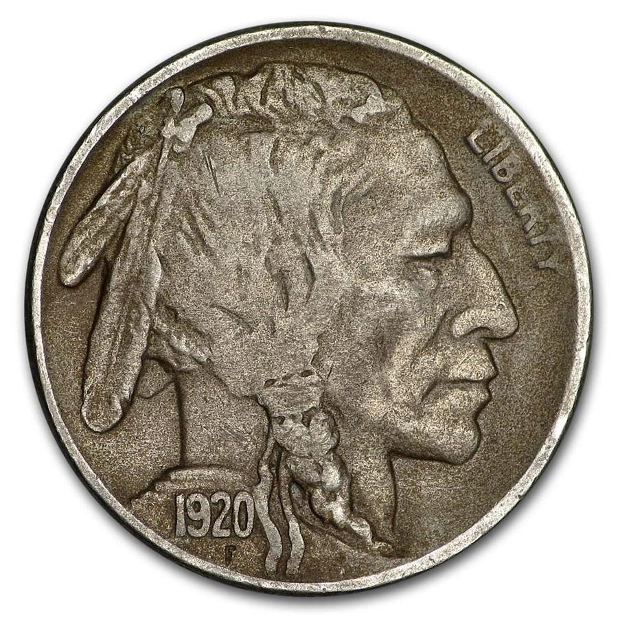 1920-S Buffalo Nickel XF